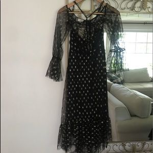 New with tags black maternity dress size 4!